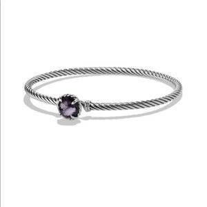 David Yurman Chatelaine Bracelet Black Orchid